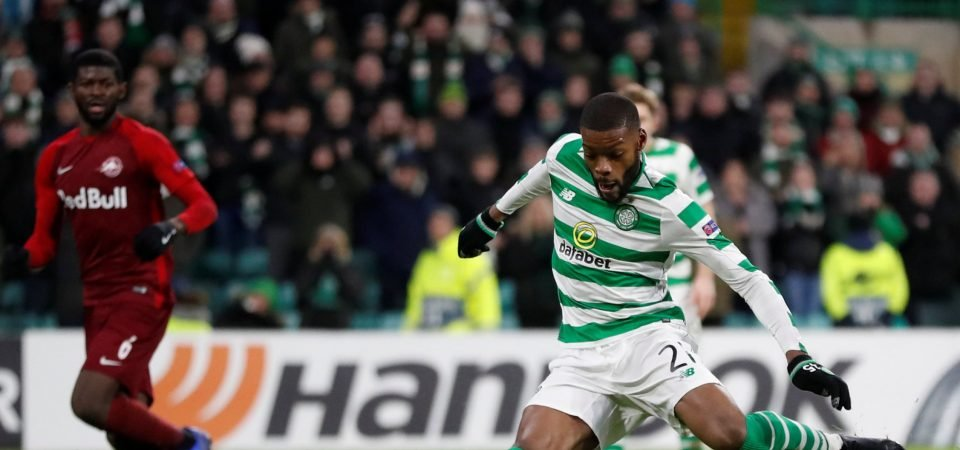 Celtic's Olivier Ntcham shows his optimism after hard-fought draw with Rennes