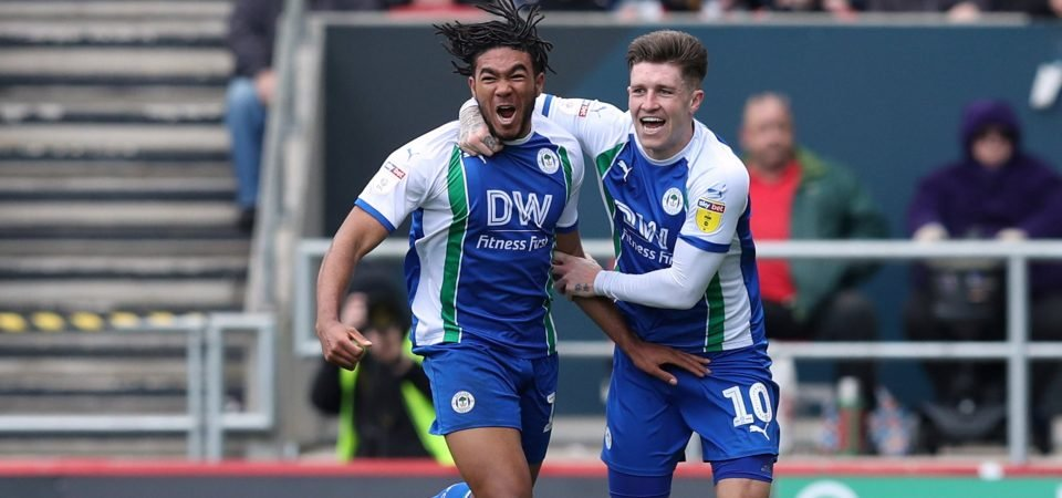 Crystal Palace fans react after a bid for Reece James is rejected by Chelsea