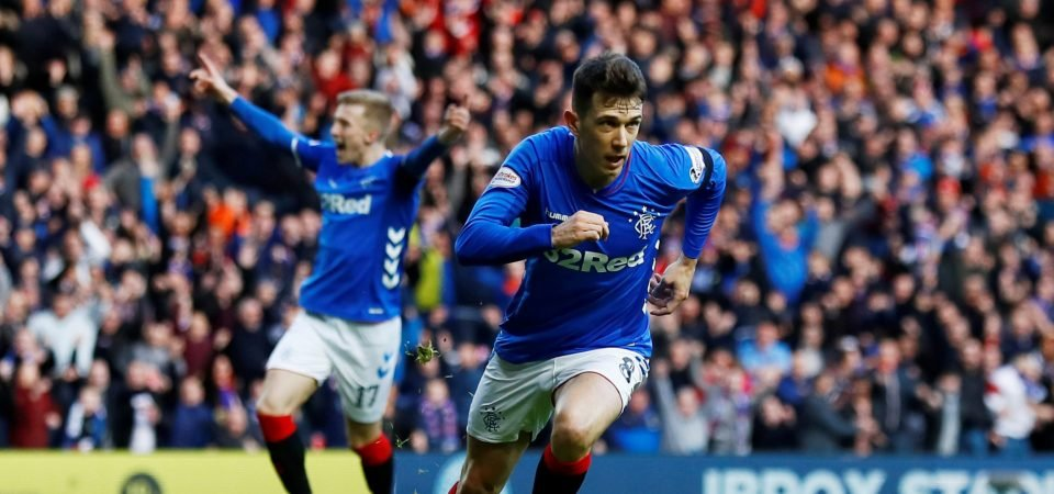 Rangers fans stunned by Ryan Jack's display against Hibernian