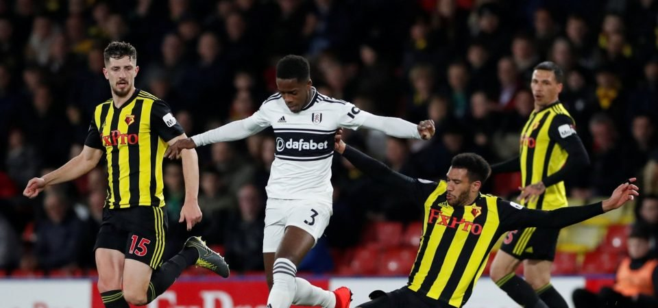 Manchester United fans are keen making an approach for Fulham's Sessegnon