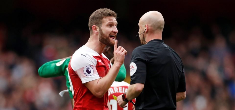 Arsenal fans react as Shkodran Mustafi is left out against Newcastle