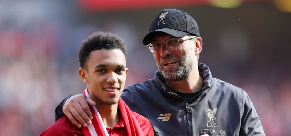 Trent Alexander-Arnold well on course to become PL's greatest ever right-back