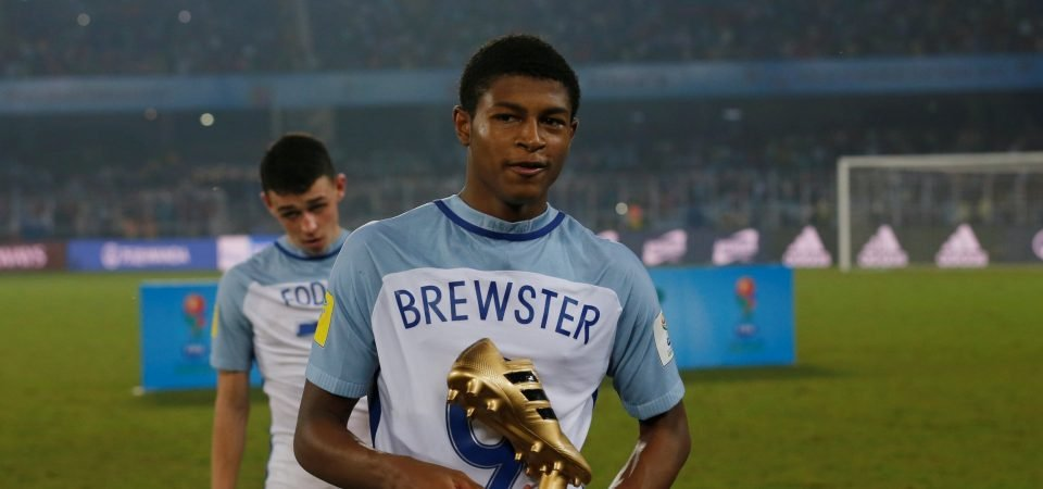 Liverpool's Rhian Brewster posts on Instagram after England call-up