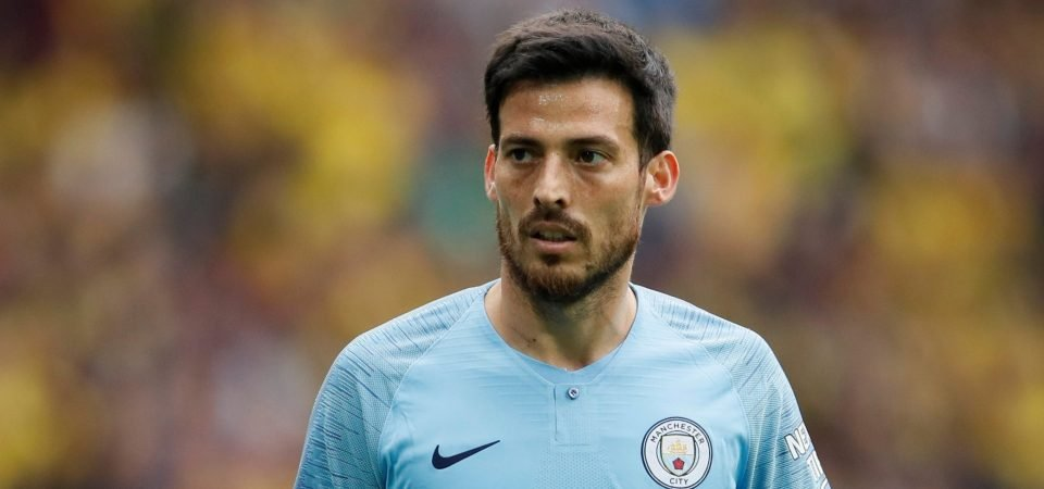 Don't go! Man City fans react to David Silva exit rumours