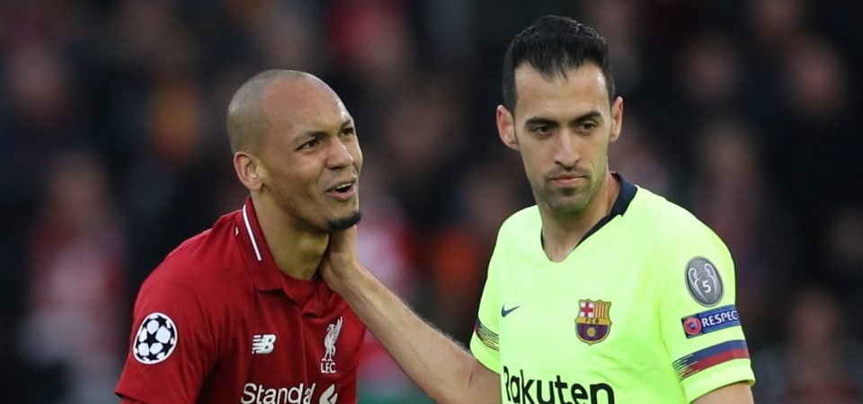 Liverpool fans loved what Fabinho and Sadio Mane said after the 3-0 loss to Barcelona