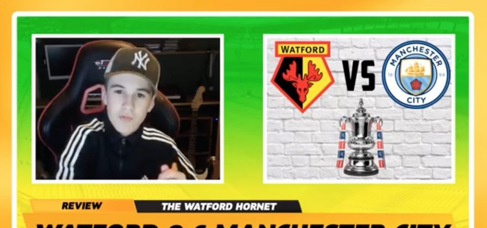"Watch: Hornets fan after FA Cup mauling - ""I've never been prouder to be a Watford fan"""