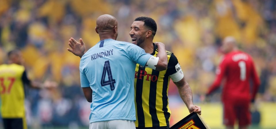 The picture of Vincent Kompany that made Troy Deeney's prediction look foolish