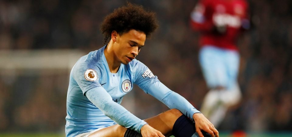 Leroy Sane's introduction didn't have the desired effect for Guardiola on Monday