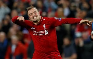 Liverpool star Xherdan Shaqiri has to improve next season