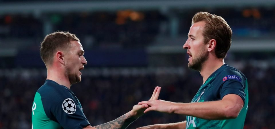 Trippier's relationship with Kane is a saving grace amid an otherwise dismal season