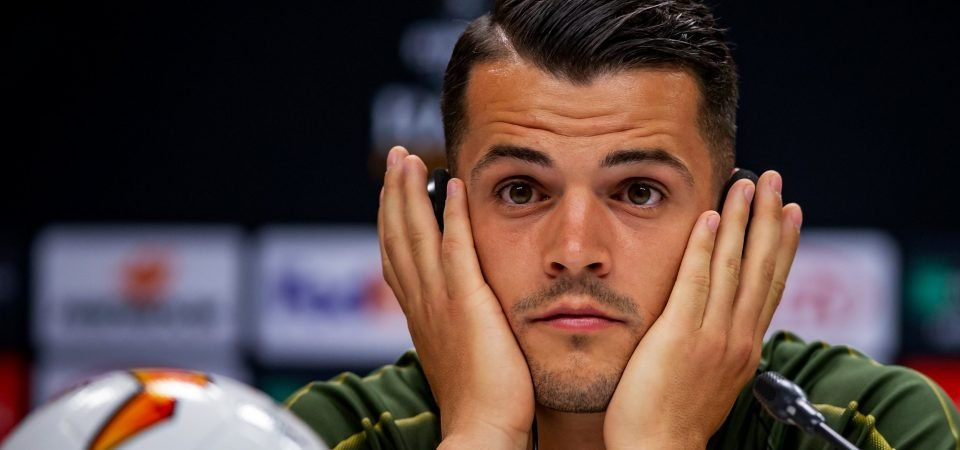 Granit Xhaka's Arsenal future could hinge on Nations League performances