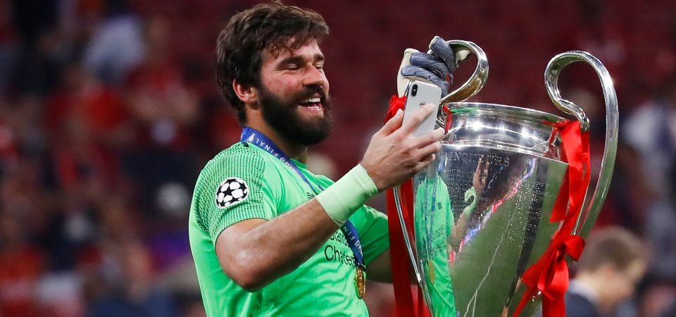 Solid: Alisson Becker put in the greatest CL final performance from a keeper in years