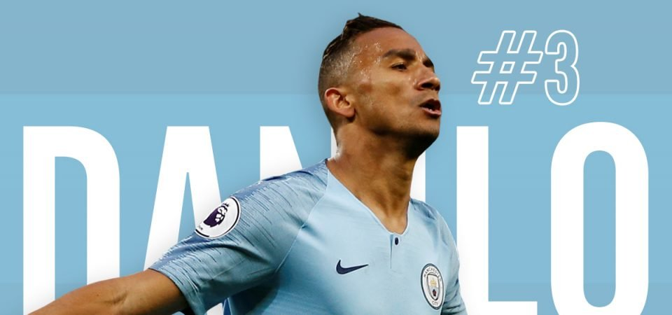 Danilo, Manchester City's perfectly average player with an extraordinary C.V.