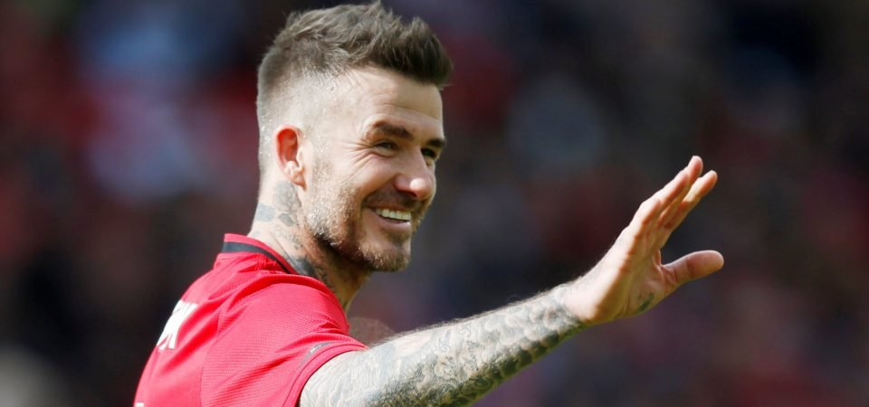 Football legends reply to David Beckham's emotional Instagram snap to his mother