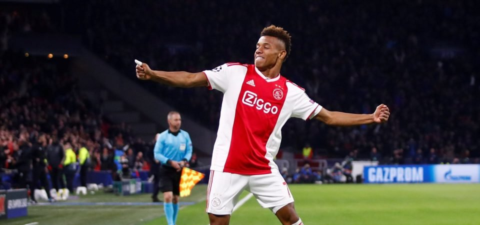 Liverpool would solve a major headache by signing Ajax sensation David Neres