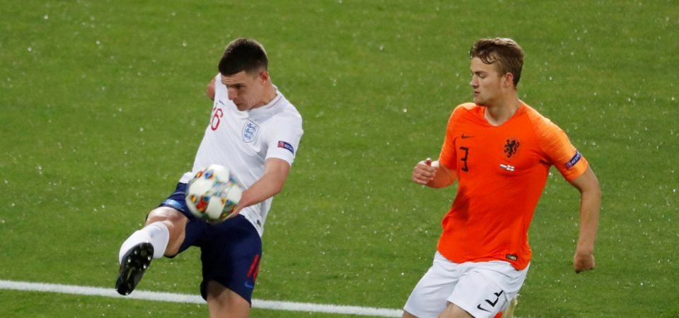 Performance In Numbers: Declan Rice vs the Netherlands
