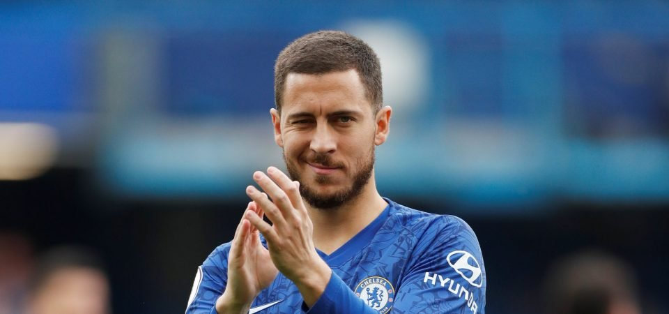 Chelsea to Real Madrid switch was decided by Eden Hazard in January