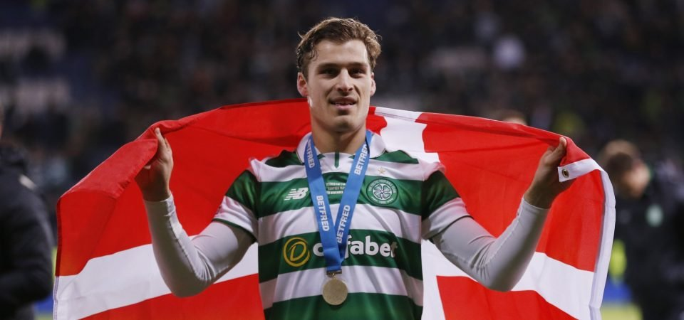 Celtic fans want to see the club make a move for former player Erik Sviatchenko