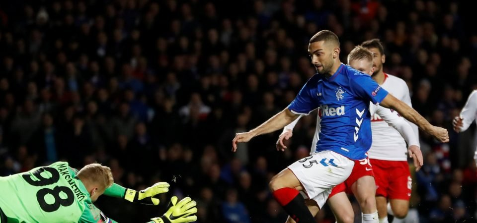 Rangers fans are desperate to sell Eros Grezda