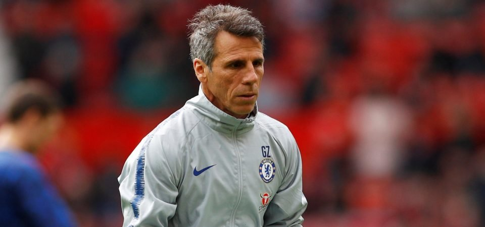 Chelsea fans react as Blues announce Zola departure