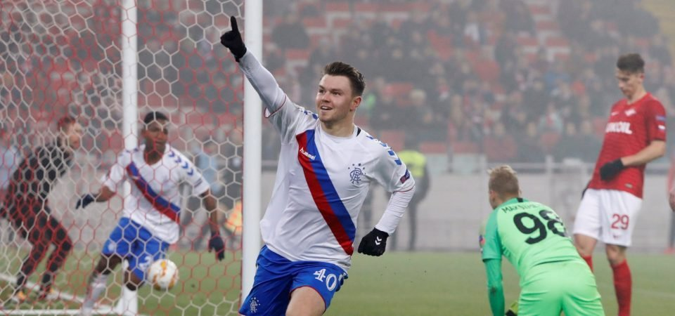 Rangers fans are pleased with decision to send Glenn Middleton on loan