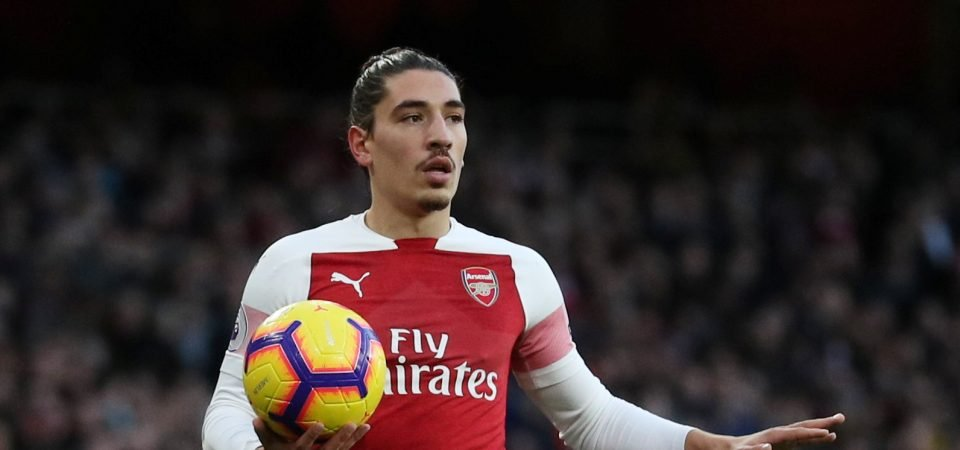 Arsenal fans ecstatic as Hector Bellerin and Kieran Tierney return to training