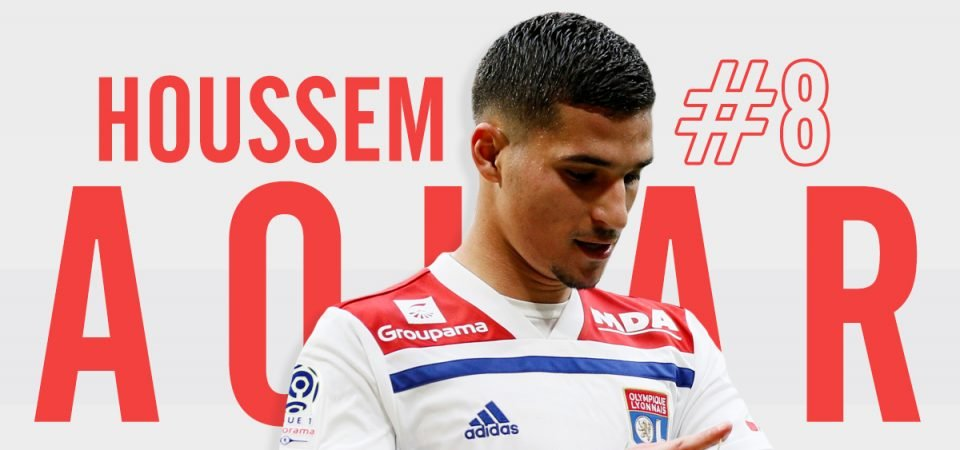 Houssem Aouar would offer something different to Liverpool's 7 midfielders