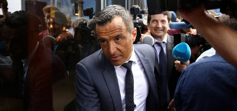 Infamous Jorge Mendes may actually hinder Wolves' transfer activity this summer