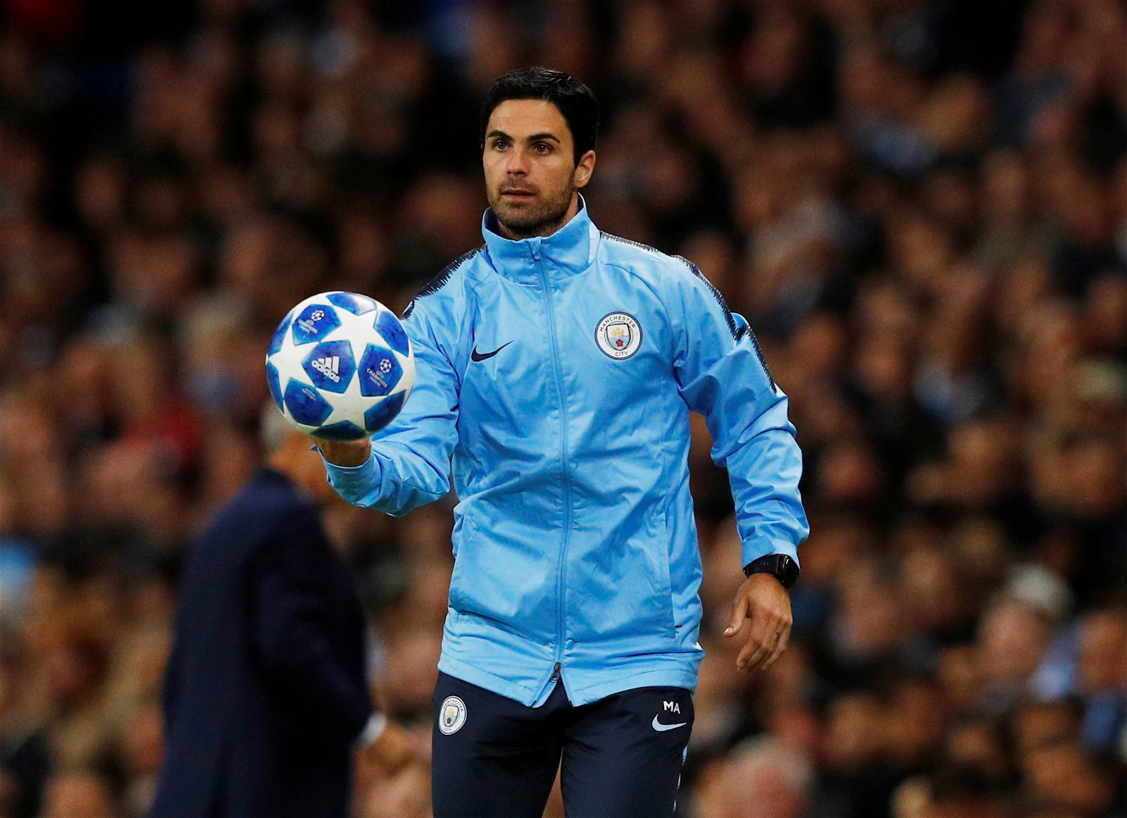 Manchester City co assistant coach Mikel Arteta