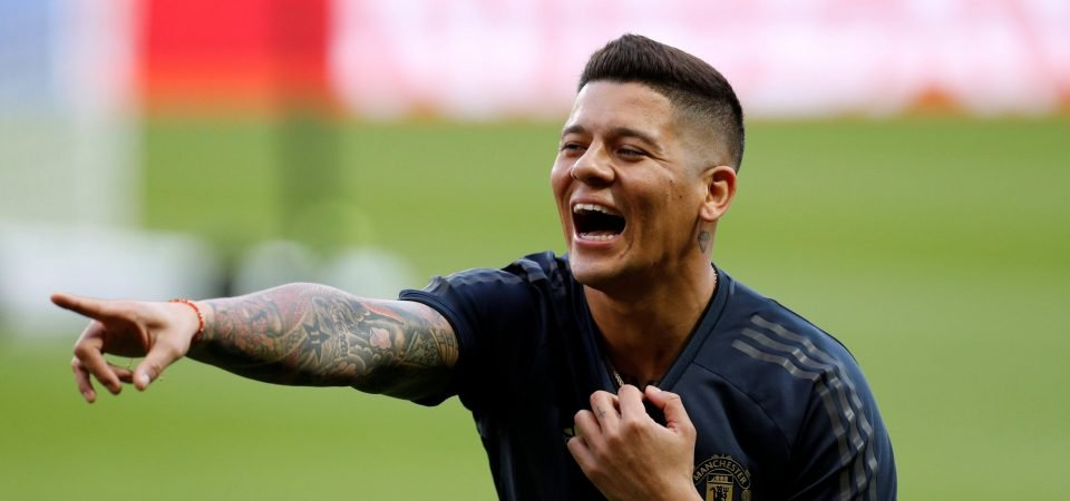 Leicester fans would surely be left in horror if their club lands Marcos Rojo
