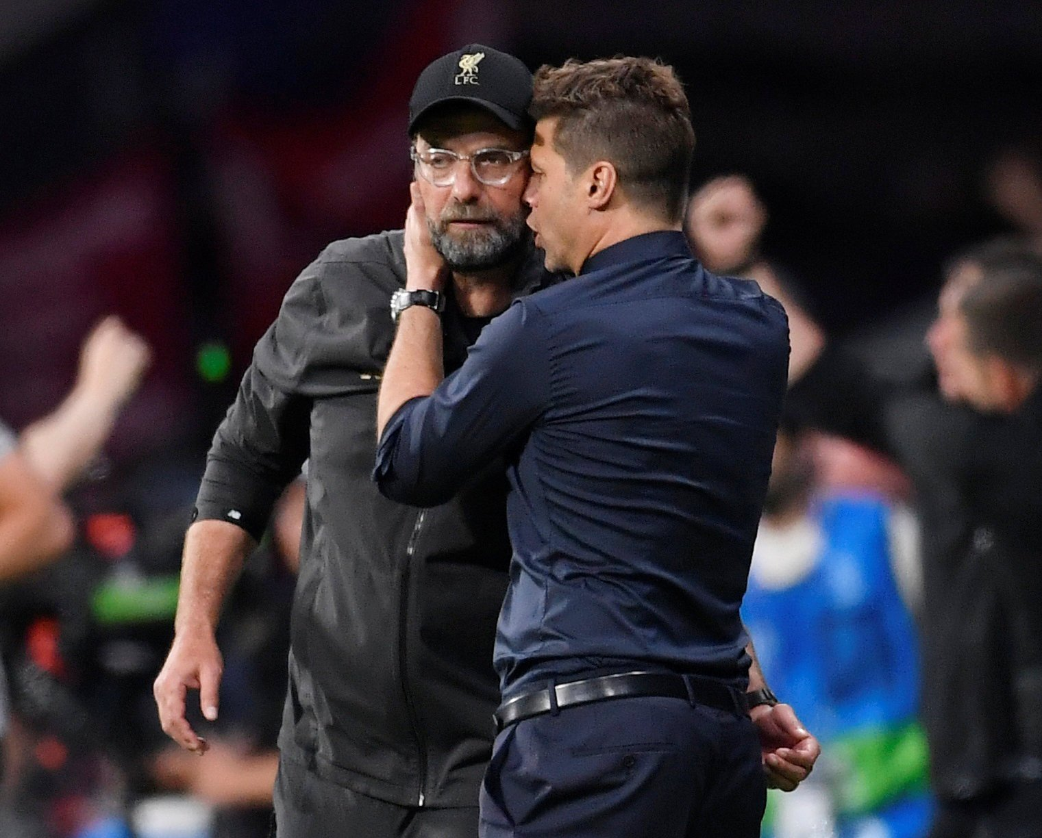 Mauricio Pochettino and Jurgen Klopp on the touchline - Champions League final: 5 key factors that made Spurs vs Liverpool an inevitably terrible game
