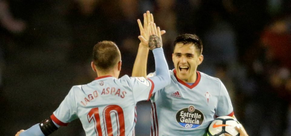 Tough one: West Ham face an uphill battle in convincing Maxi Gomez to sign