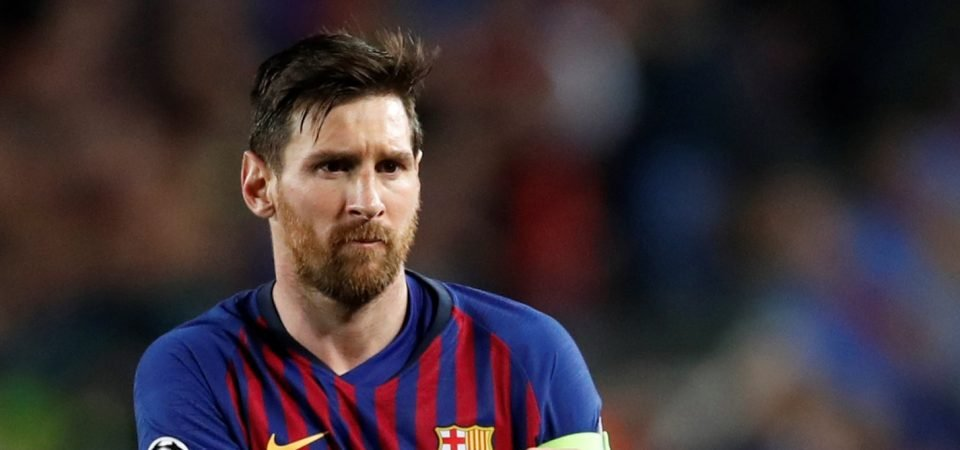 Savage! Liverpool fans respond to Lionel Messi's son taunting him over 4-0 loss