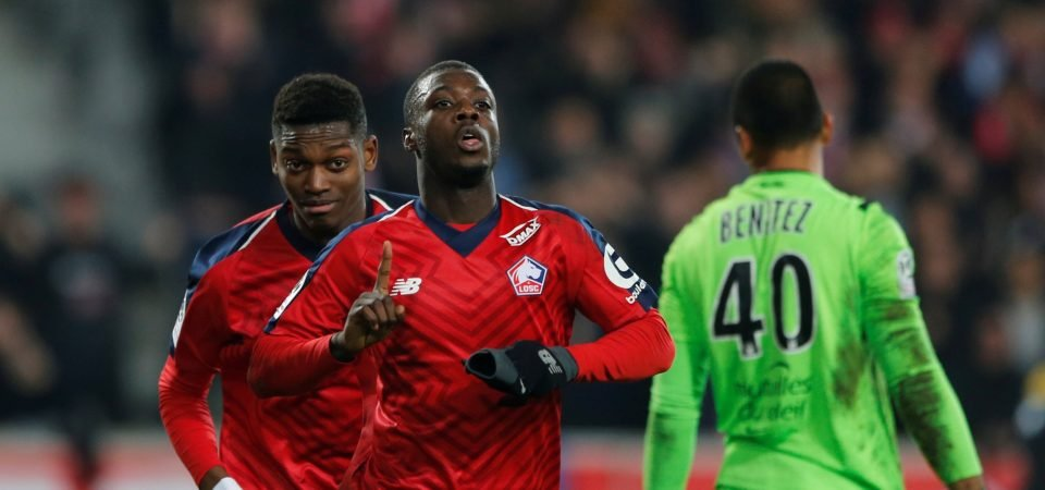 Signing Nicolas Pepe would have been a waste of money for Liverpool