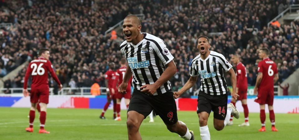 Newcastle fans really keen to swap Dwight Gayle for Salomon Rondon this summer