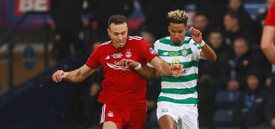 Celtic fans are not enjoying the idea of selling Scott Sinclair for £2m