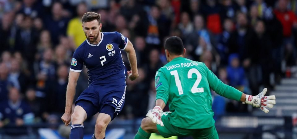 Celtic fans not keen on signing Stephen O'Donnell after Scotland display