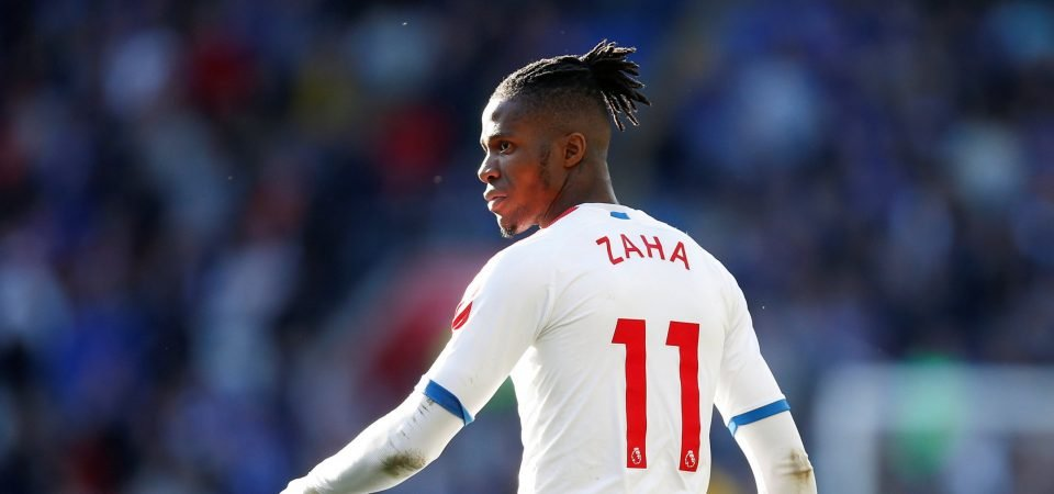 """Spurs would be a slightly better fit than Arsenal for Wilfried Zaha,"" says Simon Jordan"