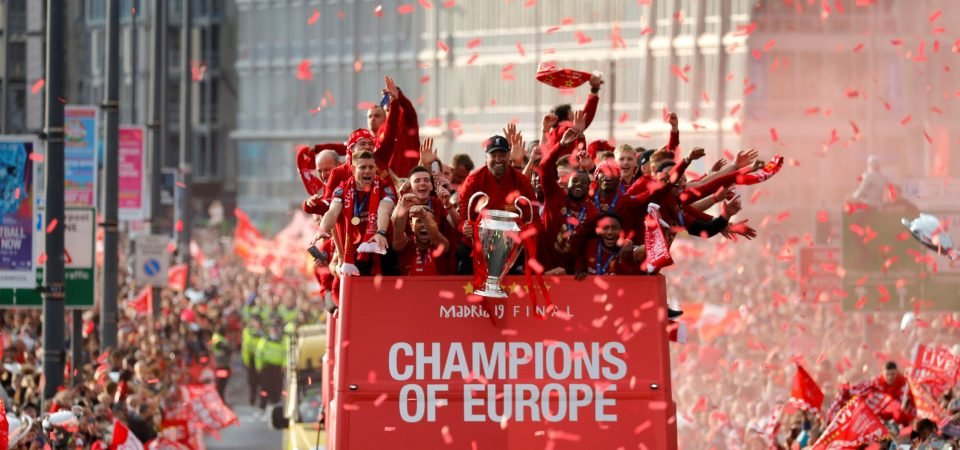 Gallery: The best images from Liverpool's Champions League parade