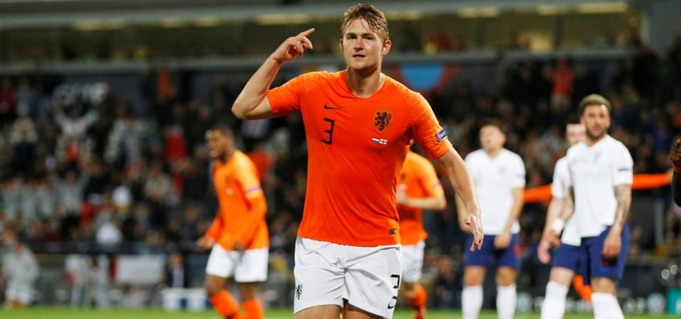 New option: The way Liverpool could line up if Matthijs de Ligt arrived at Anfield