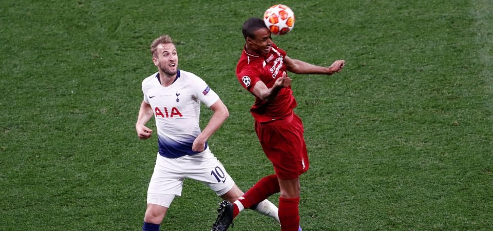 Joel Matip stepped up when it really mattered for Liverpool
