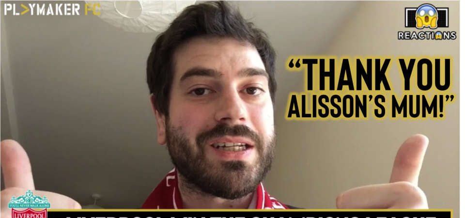 "Watch: ""Spurs didn't deserve to lose"" - Liverpool fan's UCL verdict"