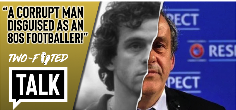 "Watch: Michel Platini - ""A corrupt man disguised as an 80s footballer"""