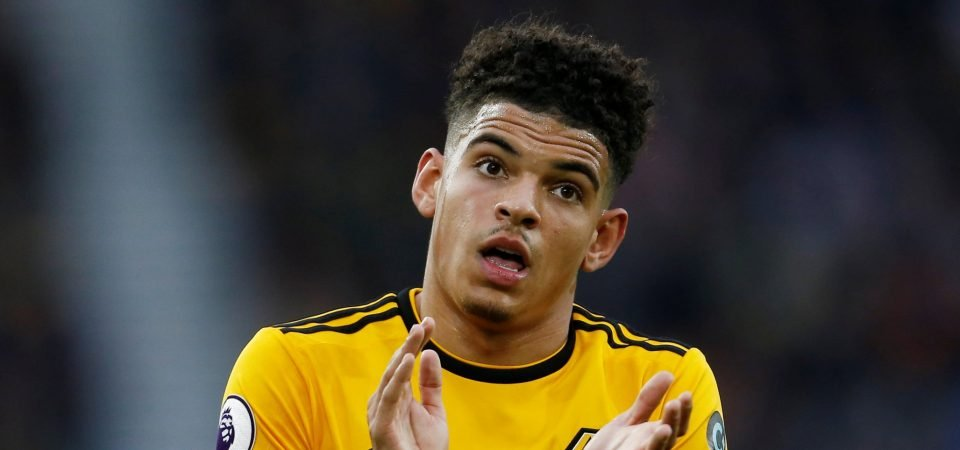 Wolves fans buzzing after Gibbs-White's first senior goal