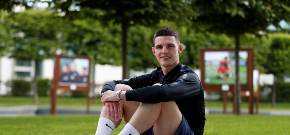 West Ham's Declan Rice shows no mercy in behind-the-scenes footage