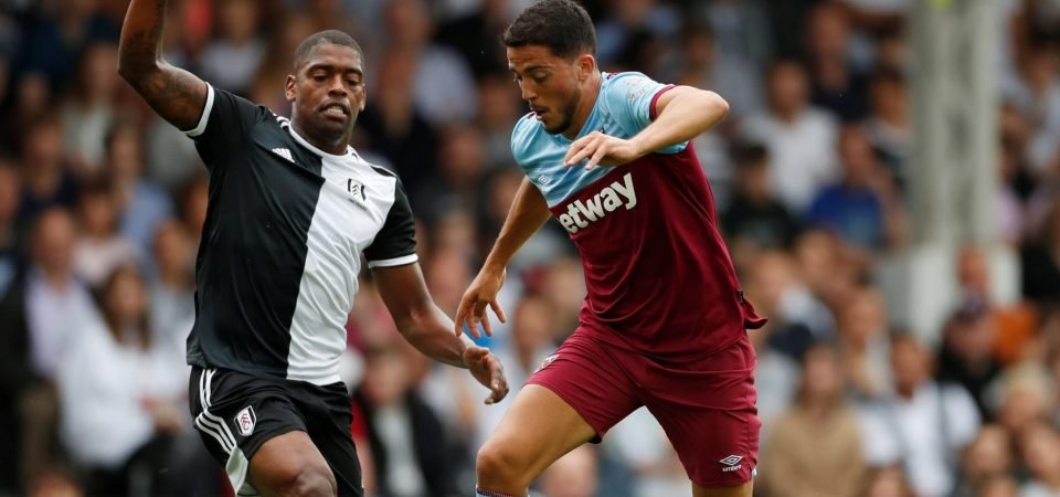 West Ham fans are delighted as Pablo Fornals opens account