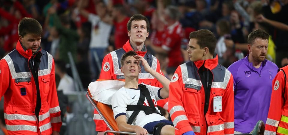 Tottenham fans react as Juan Foyth picks up ankle problem in Audi Cup