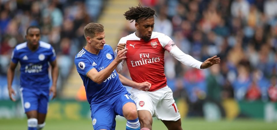 Arsenal fans rip into Alex Iwobi after comments made about Wilfried Zaha deal