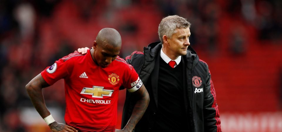 Manchester United fans annoyed by Ashley Young treatment in Singapore