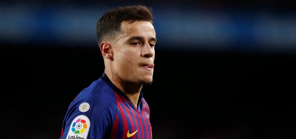 Arsenal fans react as report suggests Philippe Coutinho is a target